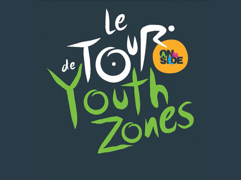 Le Tour de Youth Zones logo